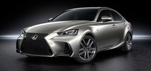 The new Lexus IS sports sedan: headed for South African shores towards the end of the year. Picture: Quickpic