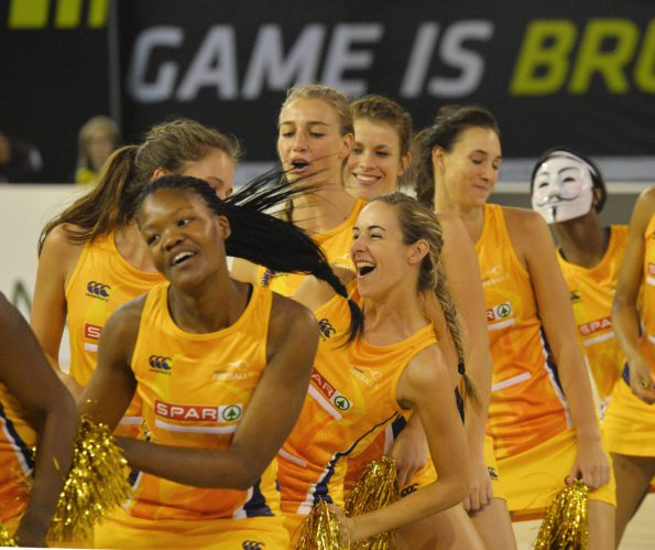 A renewed self-belief has put a new spring in the step of the Golden Fireballs, who under coach Elsje Jordaan are growing into a competitive force in the Brutal Fruit Netball Premier League. Credit: Backpage Pix.