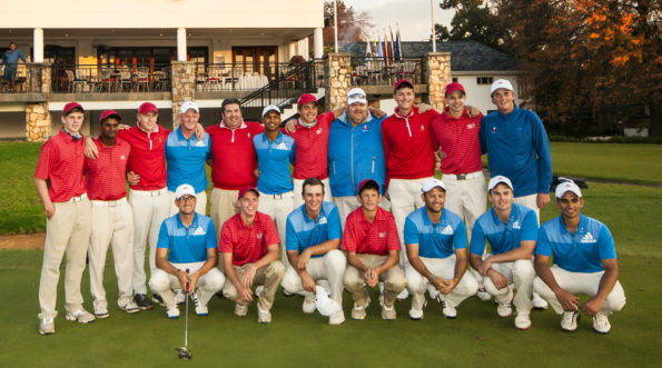 Defending champions SAGA Juniors and Western Province on day three of the Challenge Cup at Parkview Golf Club; credit Mark Fraser