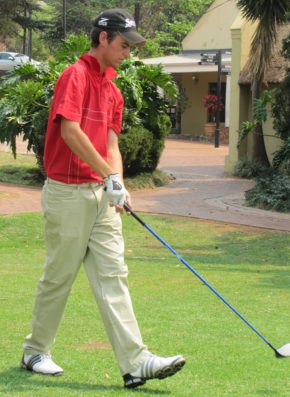 KPMG NMMU golfer Luke Jerling will compete with renewed confidence in the Challenge Cup in Johannesburg next week. Photo: supplied