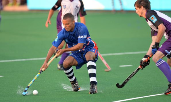 Senior Madibaz player Ignatius Malgraff will have an important role to play in the Varsity Hockey tournament starting in Johannesburg on Friday. Photo: Saspa