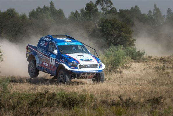 Gareth Woolidge and Boyd Dreyer: on the podium for third place. Picture: Quickpic