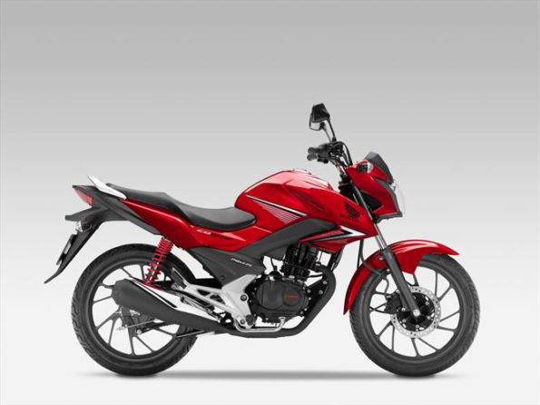 The Honda 125CBF: upgraded model has even more street cred. Picture: Quickpic