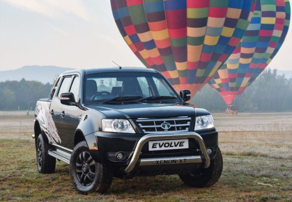 The Tata Evolve limited edition: now available in black. Picture: Quickpic