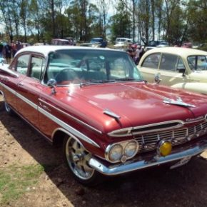 The 1959 Chevrolet Impala: you will be able to see it and other classics, at the Concours. Picture: Motorpress