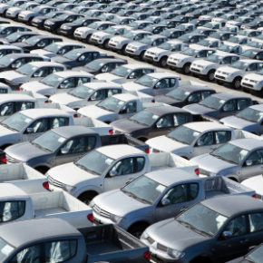 New cars:  market showed a 10.3% fall