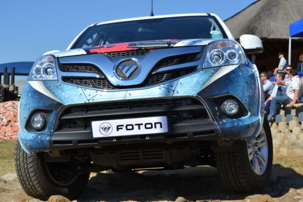 Foton shows its new Sauvana SUV at agricultural show