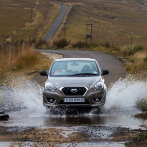 Datsun Go: goes anywhere. Picture: Motorpress