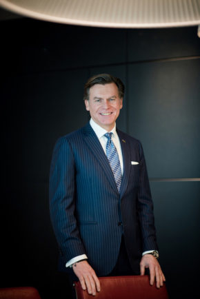 Wolfgang Neumann, President and Chief Executive Officer of the Rezidor Hotel Group