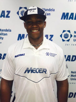NMMU-Madibaz fast bowler Sisanda Magala has been selected for the South African A cricket side. Photo: Supplied