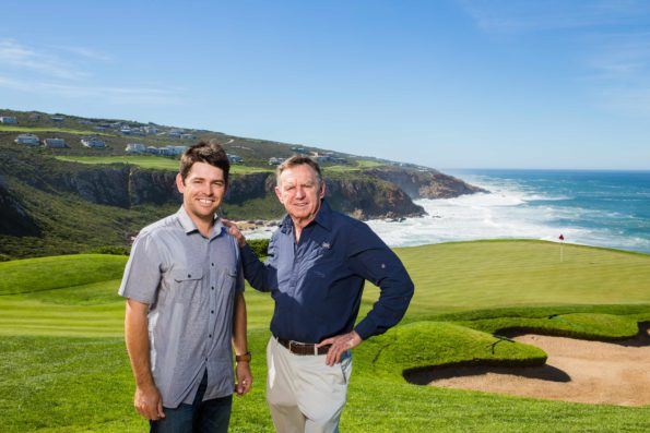 Major champion Louis Oosthuizen will explore his passion for golf course design in a new partnership with renowned golf course designer Peter Matkovich and his Matkovich Group