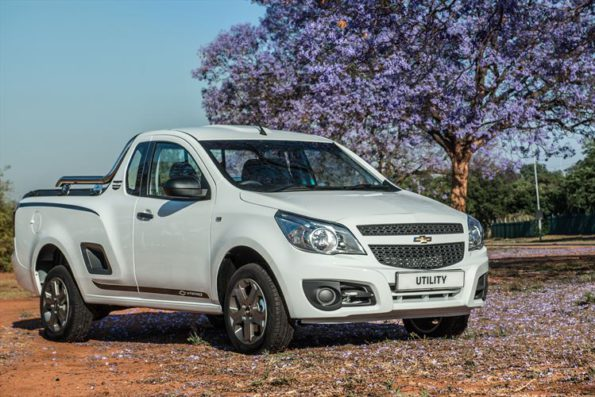 The Chevrolet Utility 1.4 UteForce Lmited Edition. Picture: Quickpic