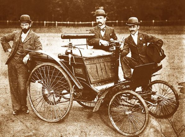 The Benz Velo: the first public demonstration of the Benz Velo took place at the Berea Park sports ground in Pretoria in front of President Paul Kruger. Picture: Quickpic
