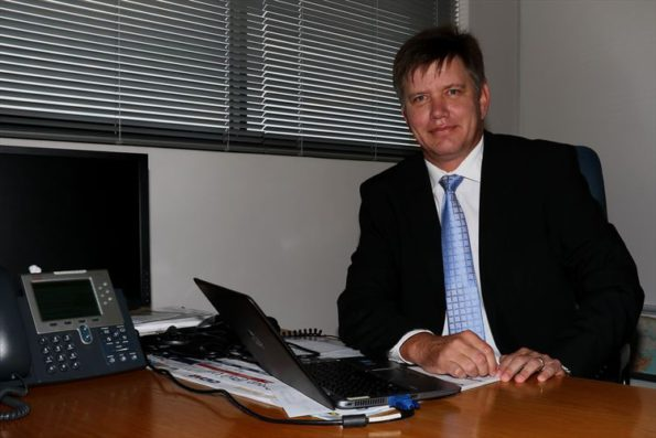 Louis Maritz: excited about his new role. Picture: Quickpic