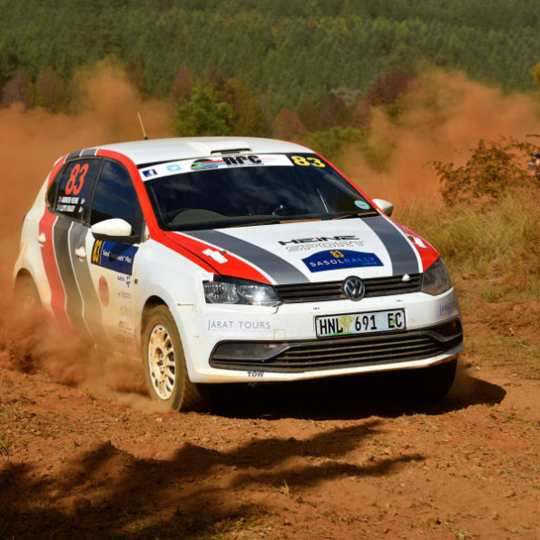 Getting ready for the 34th Volkswagen Rally: round four of the national championship  season. Picture: Motorpress