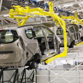 New cars:  Rolling of the assembly line into a declining sales market. Picture: Motorpress