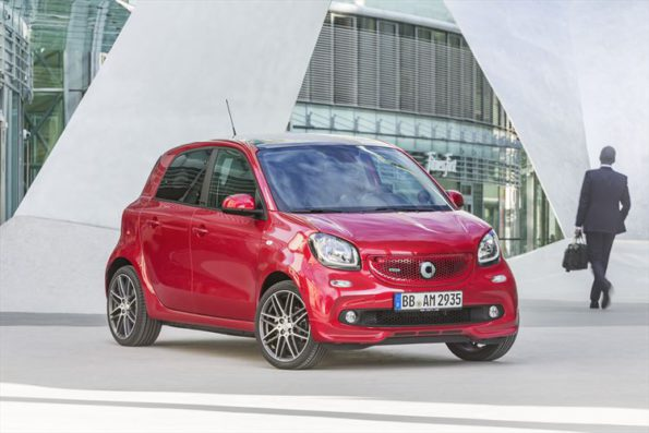 The smart Brabus: in showrooms at the end of the year. Picture; Quickpic