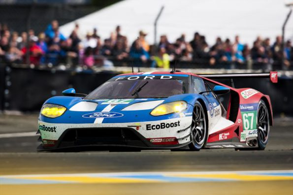 # No67: The Ford GT had a tough time at Le Mans. Picture: Quickpic