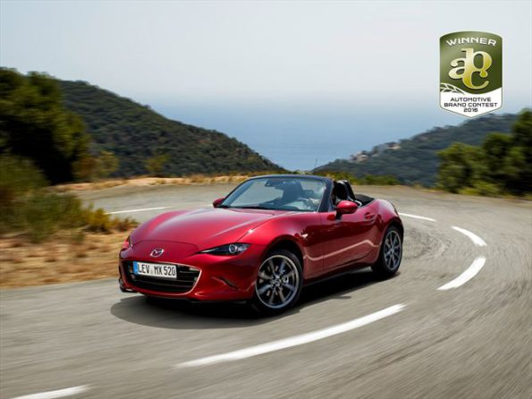 The Mazda MX-5: prizewinning design. Picture: Quickpic