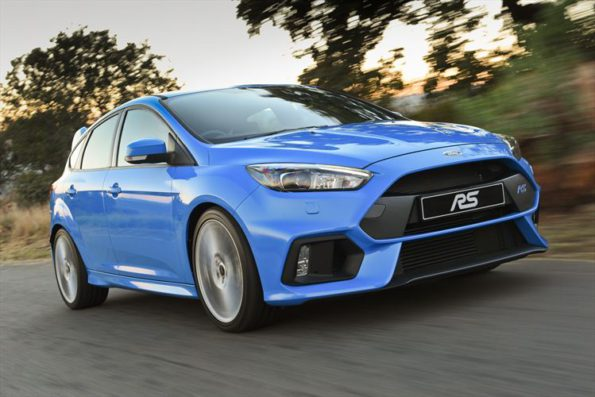 The Ford Focus RS:  advanced performance technologies. Picture: Quickpic