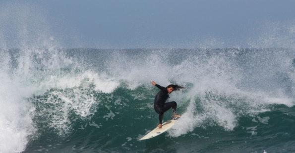 Billabong Madibaz surfer Dane van Greunen has been included in the USSA men's team after the annual varsity championships. Photo: Christo Zietsman