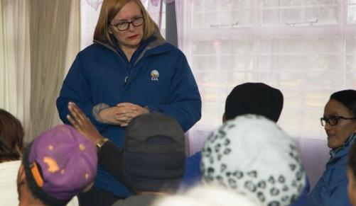 Western Cape Premier Helen Zille on the campaign trail along the Garden Route. Photo: ANA. Credit: AFRICAN NEWS AGENCY