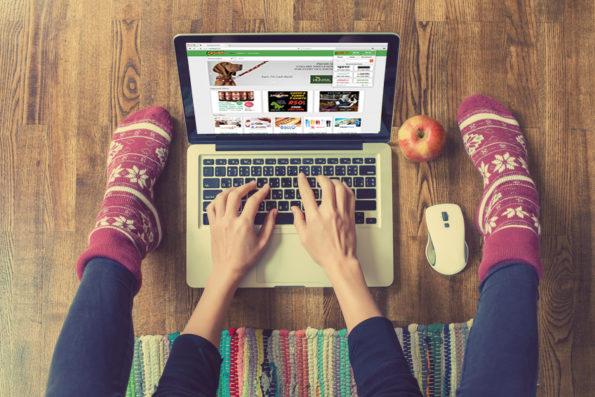 Shop online. Get cash back