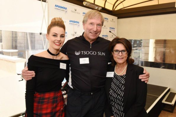 Elma Smit, Derek Watts and Annie Batchelder