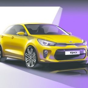 The fourth-generation Kia Rio: making its global debut. Picture: Motorpress