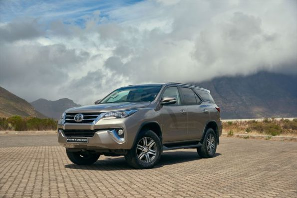 The Fortuner: good fortune for Toyota. Picture: Quickpic