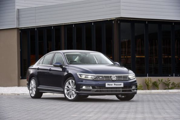 The new Volkswgen Passat: new South African record. Picture: Quickpic