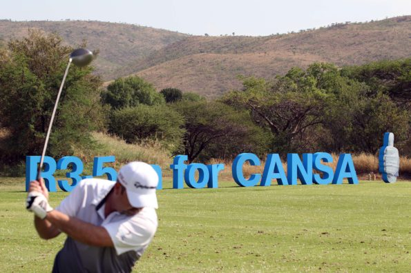 General view during the 2nd round of the Sanlam Cancer Challenge Finals 2015 held at The Gary Player Golf and Country Club in Sun City near Johannesburg, South Africa on the 20th October 2015. Photo by Luke Walker/SPORTZPICS