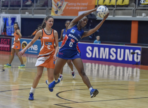 Netball star Nandipha Jack will be in action for the NMMU-Madibaz in the annual intervarsity at the university's South Campus on Saturday: Saspa