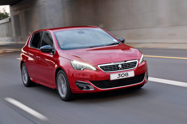 The Peugeot 1.2 PureTech Turbo Auto GT Line:  happy cruising at the legal limit. Picture: Quickpic