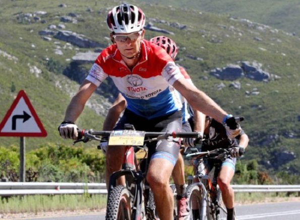 To join the likes of 2015 TransCape MTB competitor, Fanie Venter of Pretoria in saying you have conquered the challenging 750km seven-day stage race from Knysna to Franschhoek enter next year's race (February 5 to 11) now at www.transcapemtb.co.za Photo: Yolanda van der Stoep