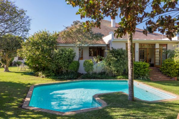 17 Mill Park: Marketed through Pam Golding Properties at R5.5 million, 17 Mill Park Road comprises not only a gracious character home (see photograph) on a large treed stand, but also a suite of professional offices, a separate and very spacious cottage and two luxury B&B suites and multiple parking