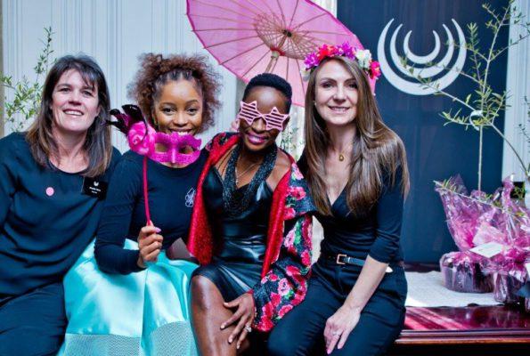 Shanda Paine, Phuti Mahanyele, Hlubi Mboya and Candy Tothill
