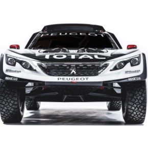 Ready for action: the new Peugeot 3008 DKR. Picture: Motorpress