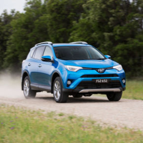 The Toyota Rav:  safety boost too. Picture: Quickpic