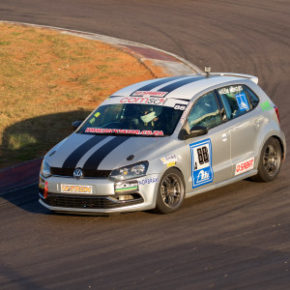 Comsol action at Killarney: Tasmin Pepper, hoping for a win after two disappointing rounds. Picture: Motorpress