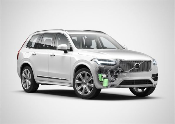 The Volvo XC90: pilot assist and PowerPulse diesel technology. Picture: Quickpic