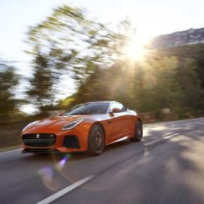 More powerful: The Jaguar F-Type SVR. Picture; Motorpress