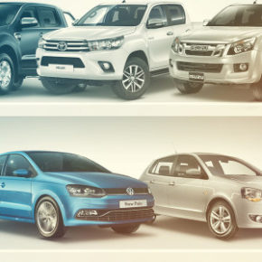 Best sellers: VW Vivo, VW Polo, Toyota Hilux, Ford Ranger and Isuzu KB. Picture: Motorpress