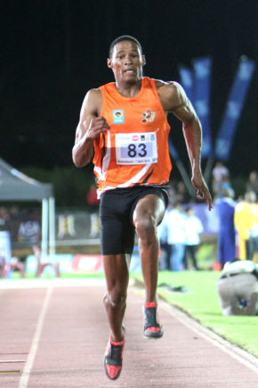 University of Johannesburg's Olympic long jump finalist Ruswahl Samaai is already focusing on next year's world championships in London. Photo: Supplied