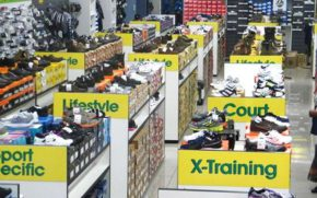 Tekkie Town operates 302 stores in Southern Africa. Picture: SUPPLIED