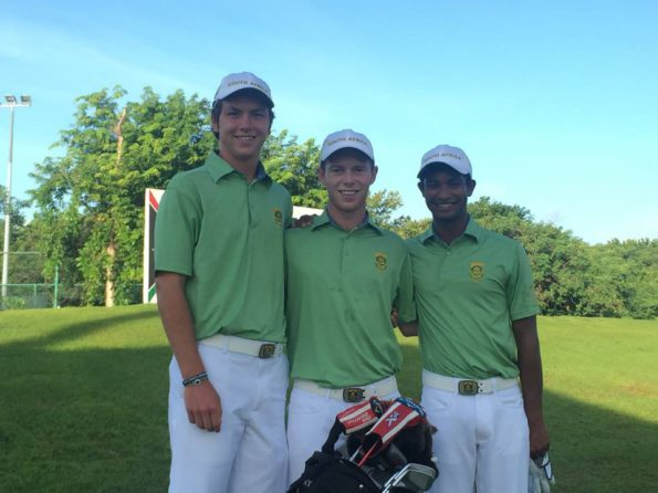 Team South Africa (Jovan Rebula, Dylan Naidoo and Marco Steyn); credit SAGA