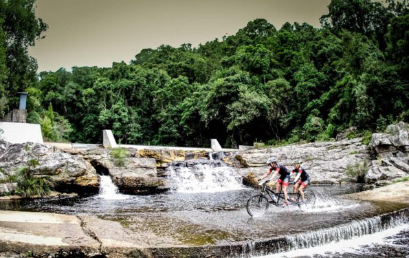 TransCape participants traverse some of the most scenic and rugged mountain biking terrain in South Africa. Photo: Jacques Marais