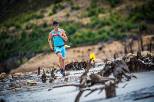 """Nine South African off-road triathletes will be seen in action at the XTERRA World Championship in Kapalua, Maui this coming Sunday, 23 October 2016.  All eyes will be on reigning XTERRA South Africa Champion, Bradley Weiss.  """"I am going to Maui to win,"""" says Weiss.  """"The Maui route suits me incredibly well.  I am a smaller athlete and I really enjoy climbing of which Maui has much.  The mountain bike leg has three big climbs allowing me to take full advantage of this strength. The run is basically 5km uphill and 5km back down.  Once again this suits an athlete of my build.  Heat and humidity will, however, be the biggest challenges on the day.  Precise nutritional and body management will be vital.""""  Seen here:  Weiss in action at the Fedhealth XTERRA South African Championship in Grabouw (Western Cape) earlier this year.  Photo Credit:  Tobias Ginsberg"""