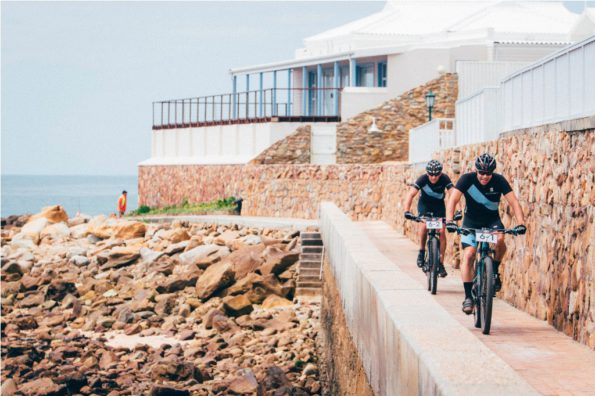 2.The urban paths of the Mossel Bay beachfront add an exciting element to the Cape Pioneer Trek. Photo by Ewald Sadie