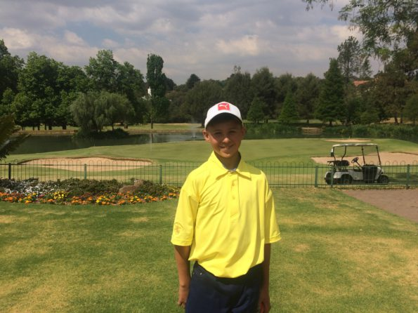 2.Hannes Strooh from Central Gauteng leads the Individual Competition at the Nomads SA Boys U-13; credit SAGA